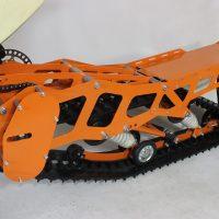 Гусеница на мотоцикл_гусеничный комплект_снегоходный комплект для мото_4