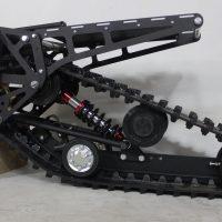 Гусенциа на питбайк_гусеничный комплект для питбайка_сноубайк комплект на мотоцикл_snowbike kit_3