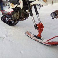 Гусеница на мотоцикл 250 питбайк_5