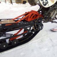 Гусеница на мотоцикл 250 питбайк_6