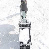 Surron snowbike_electric snowbike_sur ron snowbike kit_гусеница на суррон_surron гусеничный комплект_8