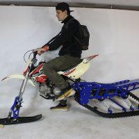 Гусеница на мотоцикл_гусеничный комплект_гусеница на питбайк_гусеница на 250_сноубайк_мотосноубайк_1
