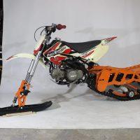 Гусеница на мотоцикл_гусеничный комплект_снегоходный комплект для мото_1