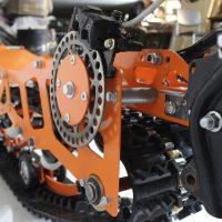 Гусеница на мотоцикл_гусеничный комплект_снегоходный комплект для мото_16