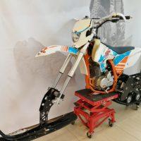 Гусеничный комплект для питбайка 250 куб.см._сноубайк_snowbike_2