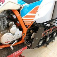 Гусеничный комплект для питбайка 250 куб.см._сноубайк_snowbike_3