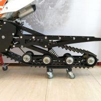 Гусеничный комплект для питбайка 250 куб.см._сноубайк_snowbike_4