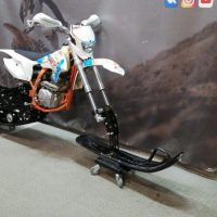 Гусеничный комплект для питбайка 250 куб.см._сноубайк_snowbike_5