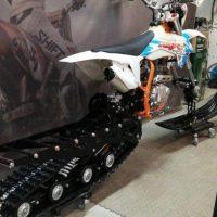 Гусеничный комплект для питбайка 250 куб.см._сноубайк_snowbike_6