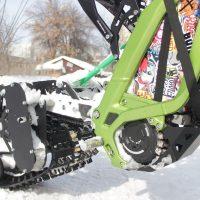 Surron snowbike_electric snowbike_sur ron snowbike kit_гусеница на суррон_surron гусеничный комплект_5