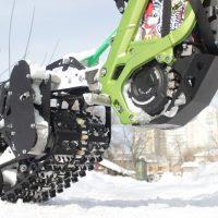Surron snowbike_electric snowbike_sur ron snowbike kit_гусеница на суррон_surron гусеничный комплект_6