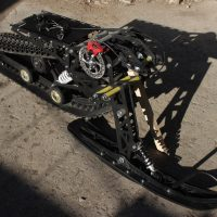 Сноубайк_гусеница на питбайк_гусеничный комплект для мотоцикла_snowrider_vortex snowbike_timbersled_yeti snow bike_6