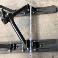 Лыжный модуль на сноубайк_snowbike kit_лыжа на мотоцикл_лыжа на питбайк_двух лыжный модуль на мотоцикл_4