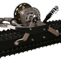 Сноубайк гусеница для мотоцикла 250 куб.см._гусеничный комплект для мотоцикла_2