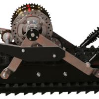 Сноубайк гусеница для мотоцикла 250 куб.см._гусеничный комплект для мотоцикла_3